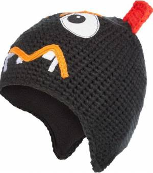 McKinley Monsters III detská čiapka čierna