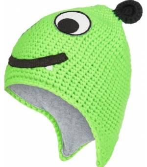 McKinley Monsters III detská čiapka zelená