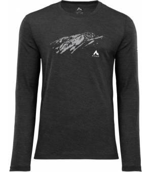 McKinley Hicks  M tričko s dlhým rukávom čierne