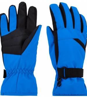 McKinley Dalence M lyžiarske rukavice modré