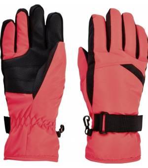 McKinley Dalence G lyžiarske rukavice oranžové