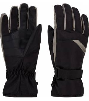 McKinley Dalence M lyžiarske rukavice čierne