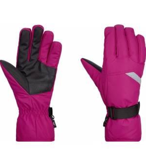 McKinley Dalence W lyžiarske rukavice ružové