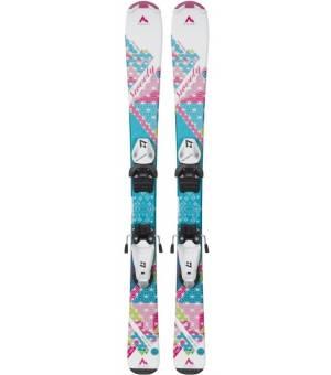 McKinley Team 7 100 - 120 cm Detské zjazdové lyže biele 21/22