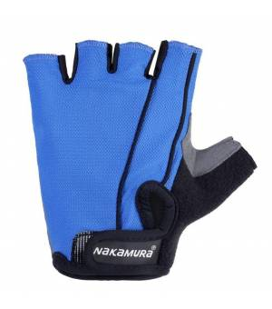 NAKAMURA Guanti M cyklistické rukavice modré