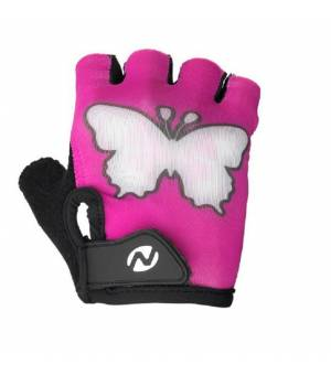 Nakamura Paris Pink detské cyklistické rukavice