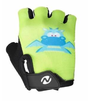 Nakamura Paris Green detské cyklistické rukavice