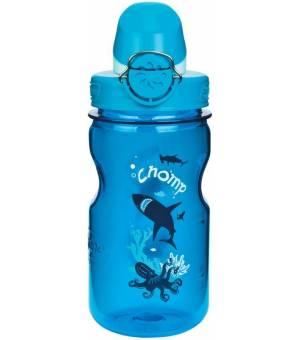 Nalgene Kids OTF Fľaša na nápoje 0,35L modrá/shark