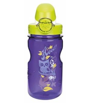 Nalgene Kids OTF Fľaša na nápoje 0,35L fialová/sova