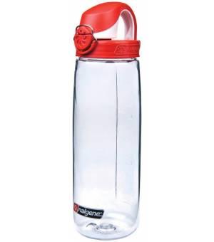 Nalgene OTF 0,65L fľaša na nápoje číra/červená