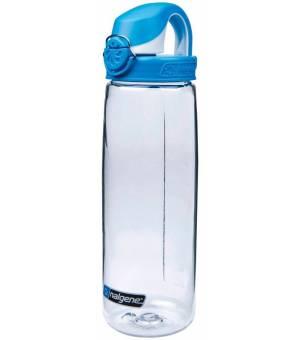 Nalgene OTF 0,65L fľaša na nápoje číra/modrá