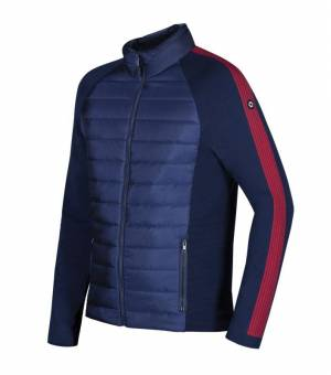 Newland Man Full Zip Abetone Navy Red bunda