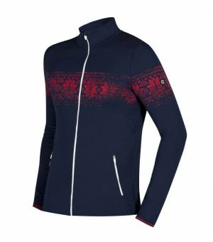 Newland Man Full Zip Banff Navy Red mikina