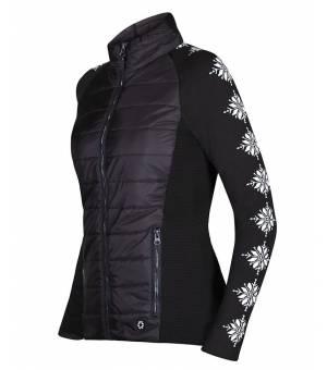 Newland Lady Full Zip Avoriaz Black White bunda