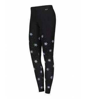 Newland Lady Pants Ceillac Black White legíny