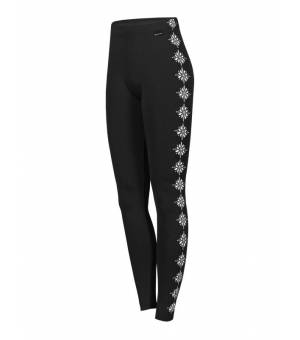 Newland Lady Leggins Chamonix Black White legíny