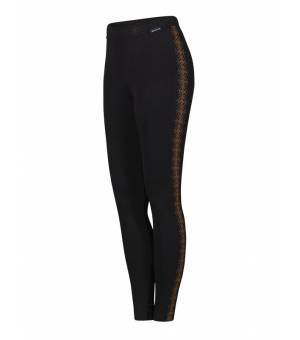 Newland Lady Leggings Cervinia Black Golden Bronze leginy