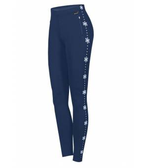 Newland Lady Leggins Flaine Navy White legíny