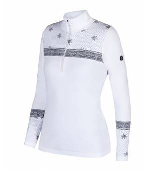 Newland Lady T-Neck Baqueira White Black rolák