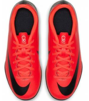 Nike Vaporx 12 Club GS CR7 IC Jr Red Obuv