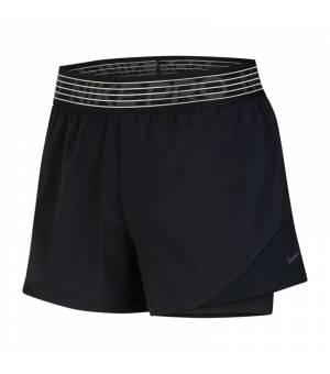 Nike W NK FLX 2in1 Short WVN ESSN šortky čierne