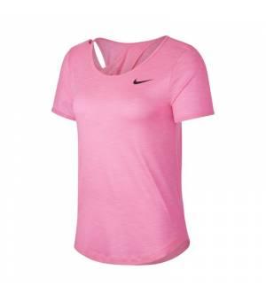 Nike W NK Top SS Runway tričko ružové