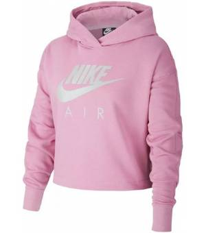 Nike Nsw Air Crop W mikina s kapucňou