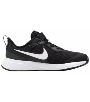 Nike Revolution 5 (PSV) JR. Black/White