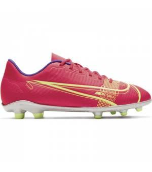 Nike Vapor 14 Club Fg/Mg Jr Red/Neon Green