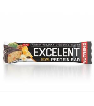 Nutrend Excelent Protein Bar Vanilka s Ananásom tyčinka 85 g