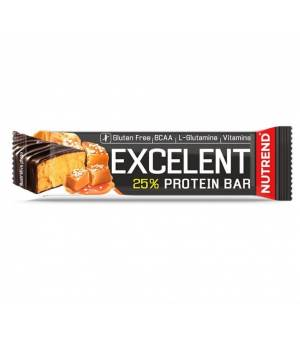 Nutrend Excelent Protein Bar Slaný Karamel tyčinka 85 g