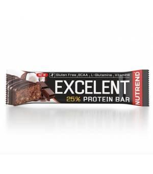 Nutrend Excelent Protein Bar Čokoláda s Kokosom tyčinka 85 g