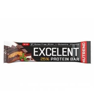 Nutrend Excelent Double Bar Čokoláda+Nugát s brusnicami tyčinka 85 g
