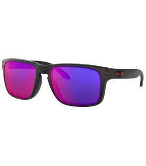 Oakley Holbrook matte black/positive red iridium okuliare