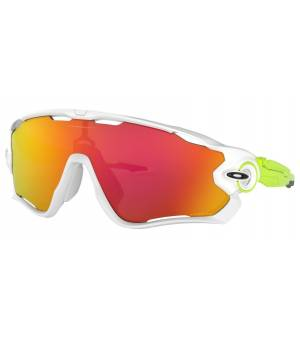 Oakley Jawbreaker Origins Collection polished white/prizm ruby okuliare