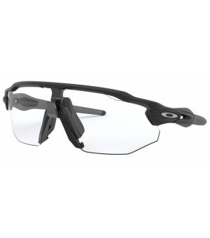 Oakley Radar EV Advancer matte black/clear to black iridium photochromatic okuliare