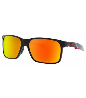 Oakley Portal X polished black/prizm ruby polarized okuliare