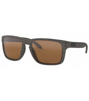 Oakley Holbrook XL woodgrain/prizm tungsten polarized okuliare