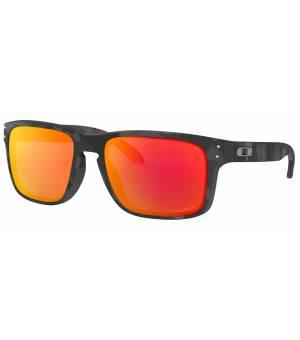Oakley Holbrook black camo/prizm ruby okuliare