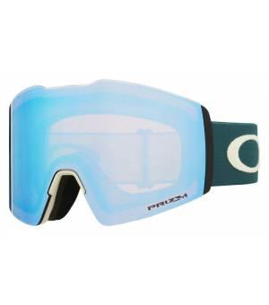 Oakley Fall Line XL Snow Sapphire Iridium lyž. okuliare
