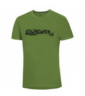 Ocun Classic M T-Shirt bleau jump/macaw green tričko
