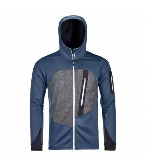 Ortovox Fleece Loden M Hoody night blue mikina