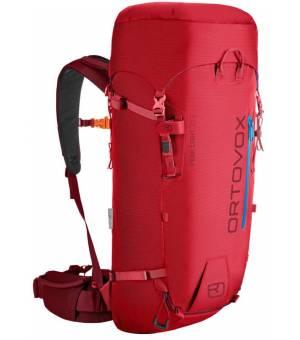 ORTOVOX Peak Light S Batoh 30 L Hot Coral Červený
