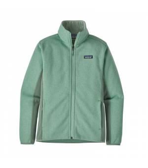Patagonia Lightweight Better Sweater W Fleece Jacket gypsum green mikina