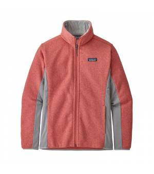 Patagonia Lightweight Better Sweater W Fleece Jacket spiced coral mikina
