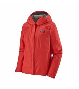 Patagonia Torrentshell 3L W Jacket catalan coral bunda