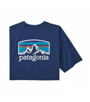 Patagonia Fitz Roy Horizons Responsibili M Tee superior blue tričko