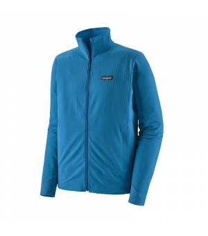 Patagonia R1 TechFace M Jacket andes blue mikina