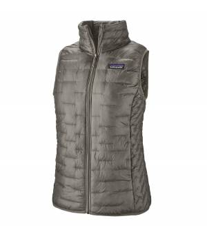 Patagonia Micro Puff W Vest feather grey vesta
