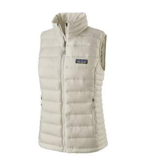 Patagonia Down Sweater W Vest birch white vesta